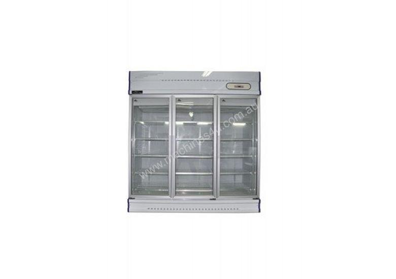 Anvil GDJ1881 Three Glass Door Upright Display Freezer - 1500Lt