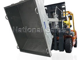 Lever Release Tipping Bin 2.1m3