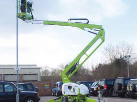 Nifty 150T 14.7m Trailer Mount - maximum outreach at low levels - picture0' - Click to enlarge