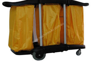 Durable & Easily Installed Cleaning Linen Trolley