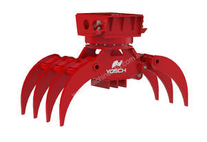 VOSCH HD rotating grapple for 4-9T excavators