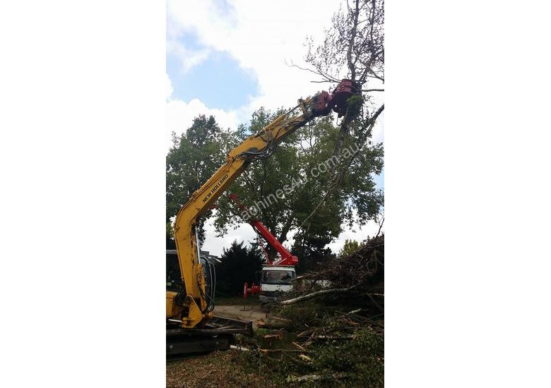 VOSCH HD rotating grapple for 4 Tonne through to 9 Tonne Excavators
