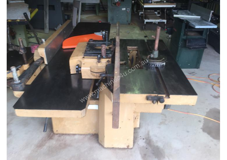 Used 1989 L Invincible Scm 2200 Scm Combination Wood Working Machine