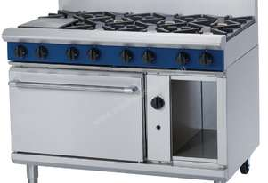Blue Seal by Moffat 8 Burner Natural Gas Oven Range G508D