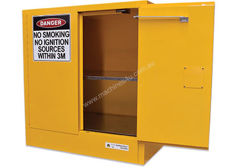 New 250L Flammable Liquids Cabinet. Made In Australia To Meet Australian  Standards (AS1940)