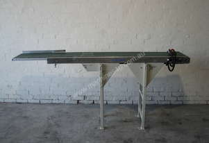 Motorised Variable Speed Belt Conveyor - 2.4m long