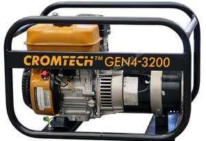 Cromtech Petrol 4.0kVA, powered by Subaru