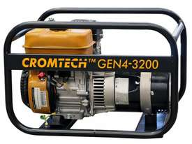 Cromtech Petrol 4.0kVA, powered by Subaru - picture2' - Click to enlarge