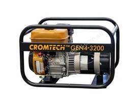 Cromtech Petrol 4.0kVA, powered by Subaru - picture1' - Click to enlarge