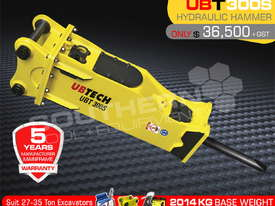 UBT300S Silence Excavator Hydraulic Rock Breaker ATTUBT - picture1' - Click to enlarge