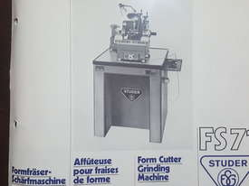 Form Cutter Grinding Machine - picture4' - Click to enlarge