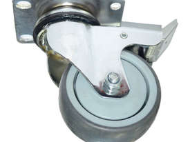 42077 - GREY TPR CASTOR(SWIVEL/BRAKE) - picture0' - Click to enlarge
