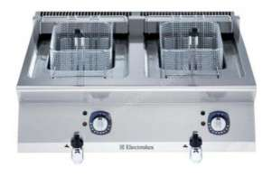 Electrolux 700XP Bench Top Electric Deep Fryer Double