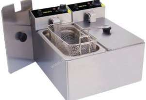 Europa Apuro 2 x 3Ltr Single Fryer