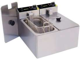 Apuro 2 x 3Ltr Single Fryer - picture0' - Click to enlarge
