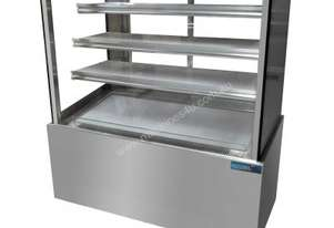 Mitchel Refrigeration1200mm Straight Glass Cold Display - 4 Shelves