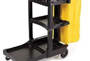RUBBERMAID 6173-88 Janitor / Cleaning Cart