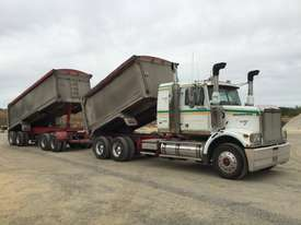 2010 Western Star 4800FX 6x4 Tipper Truck & 2010 7.8 M Lusty EMS Quad Dog Tipping Trailer - picture1' - Click to enlarge