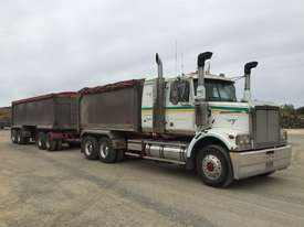 2010 Western Star 4800FX 6x4 Tipper Truck & 2010 7.8 M Lusty EMS Quad Dog Tipping Trailer - picture0' - Click to enlarge