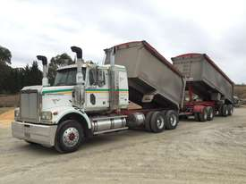 2010 Western Star 4800FX 6x4 Tipper Truck & 2010 7.8 M Lusty EMS Quad Dog Tipping Trailer - picture2' - Click to enlarge