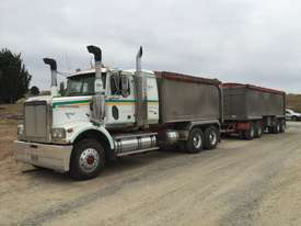 2010 Western Star 4800FX 6x4 Tipper Truck & 2010 7.8 M Lusty EMS Quad Dog Tipping Trailer - picture3' - Click to enlarge