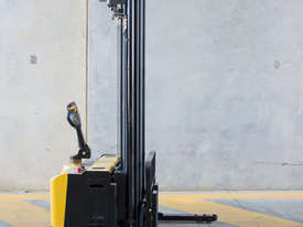 Low Hours - Ex-demo Walkie Stacker - picture0' - Click to enlarge