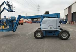 GENIE 34' Knuckle boom lift. In compliance.
