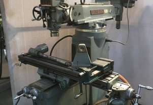 Pacific FT-2 Turret Milling Machine with Slotting Attachment
