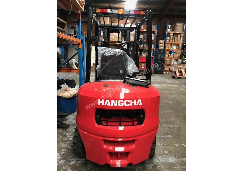 HC Brand New Forklift Diesel 3Ton Container Entry Mast $23550+ gst