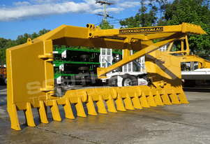 CAT D6N Bulldozer Stick Rake & Tree Pusher DOZRAKE