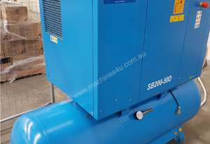 Italian PNEUTECH Screw Compressor, 15Kw, InBuilt Dryer. AIR DRYERS / TANKS. BUY / PARTS / TRADE