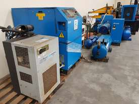 INGERSOLL RAND 2016 Screw Compressor 22Kw In-Built Dryer/Tank UNDER 100 HOURS USE. AIR DRYERS/TANKS - picture5' - Click to enlarge