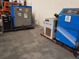 INGERSOLL RAND 2016 Screw Compressor 22Kw In-Built Dryer/Tank UNDER 100 HOURS USE. AIR DRYERS/TANKS - picture4' - Click to enlarge