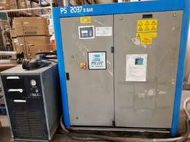 INGERSOLL RAND 2016 Screw Compressor 22Kw In-Built Dryer/Tank UNDER 100 HOURS USE. AIR DRYERS/TANKS - picture3' - Click to enlarge