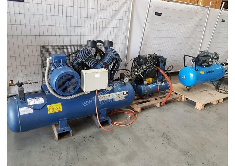 KAESER AIRCENTER SM12 PACKAGE INCLUDING AIR TANK AIR DRYER - ULTRA on