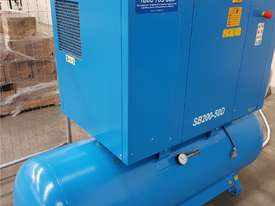 Quality Italian PNEUTECH Screw Compressor, 15Kw, In-Built Dryer. AIR DRYERS & TANKS. We BUY & TRADE - picture0' - Click to enlarge