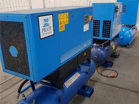 Quality Italian PNEUTECH Screw Compressor, 15Kw, In-Built Dryer. AIR DRYERS & TANKS. We BUY & TRADE - picture13' - Click to enlarge