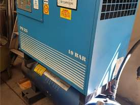 Quality Italian PNEUTECH Screw Compressor, 15Kw, In-Built Dryer. AIR DRYERS & TANKS. We BUY & TRADE - picture14' - Click to enlarge