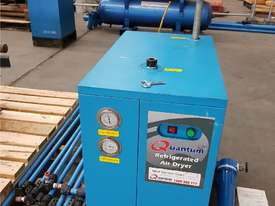 Quality Italian PNEUTECH Screw Compressor, 15Kw, In-Built Dryer. AIR DRYERS & TANKS. We BUY & TRADE - picture5' - Click to enlarge