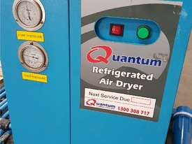 Quality Italian PNEUTECH Screw Compressor, 15Kw, In-Built Dryer. AIR DRYERS & TANKS. We BUY & TRADE - picture6' - Click to enlarge