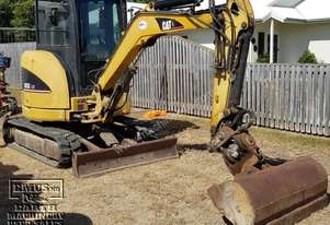 CAT 303C Excavator, JB tilt hitch, attachments, Call EMUS