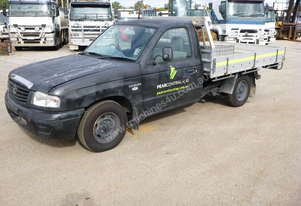 2005 Mazda B2600 4x2 Single Cab Tray Back Utility - In Auction