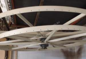 Rotational Hanging Rack for painting, lacquering, drying