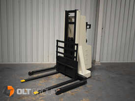 Used Crown Walkie Stacker 1 Tonne Lift Truck Container Mast Full Free Lift  - picture0' - Click to enlarge