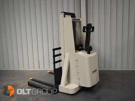 Used Crown Walkie Stacker 1 Tonne Lift Truck Container Mast Full Free Lift  - picture1' - Click to enlarge