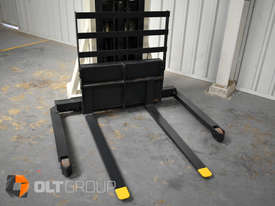Used Crown Walkie Stacker 1 Tonne Lift Truck Container Mast Full Free Lift  - picture4' - Click to enlarge