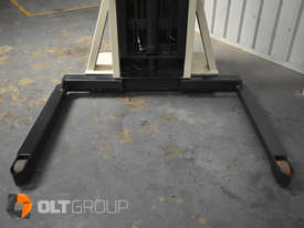 Used Crown Walkie Stacker 1 Tonne Lift Truck Container Mast Full Free Lift  - picture5' - Click to enlarge