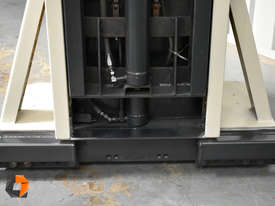 Used Crown Walkie Stacker 1 Tonne Lift Truck Container Mast Full Free Lift  - picture6' - Click to enlarge