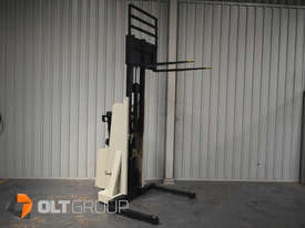 Used Crown Walkie Stacker 1 Tonne Lift Truck Container Mast Full Free Lift  - picture7' - Click to enlarge