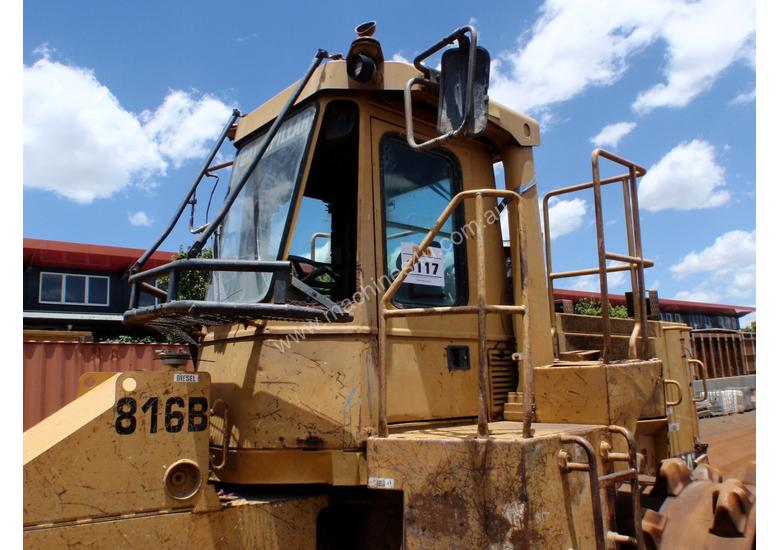 1995 Caterpillar 816B Compactor *CONDITIONS APPLY*